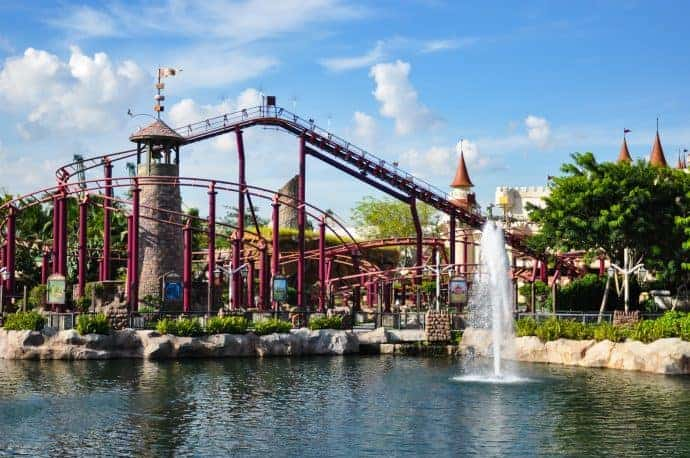 Rides for kids at Universal Studios Singapore