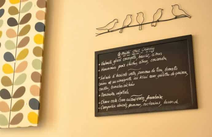 Menu at Greedy Bordeaux