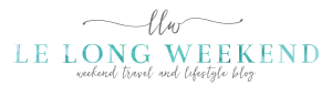 Le Long Weekend travel blog logo