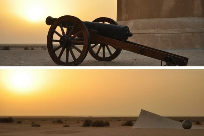 Al-Zubarah Fort, Qatar. Zubarah Museum.