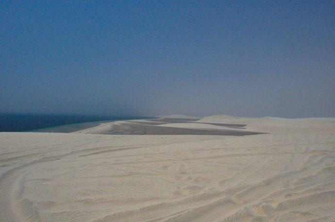 Sand dunes in Qatar