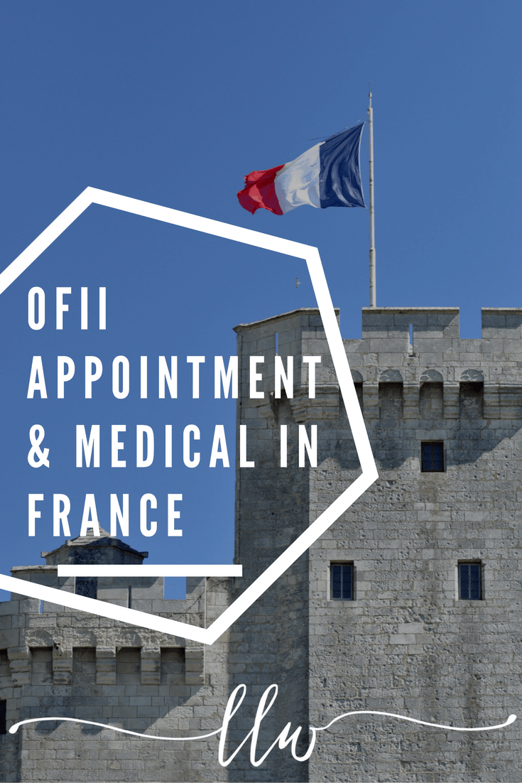 OFII Appointment France. OFII Medical France