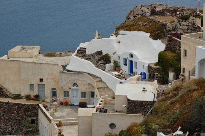 Oia cave houses