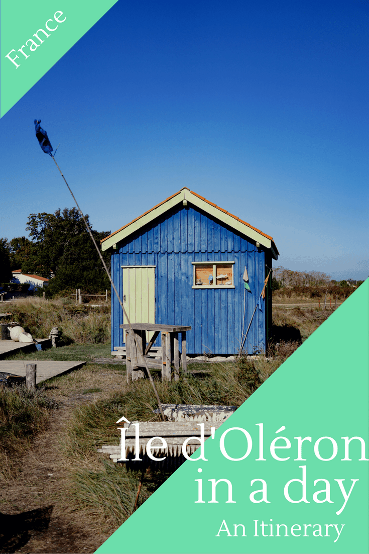 Discovering the ile d'Oleron in France. An itinerary for Oleron Island.
