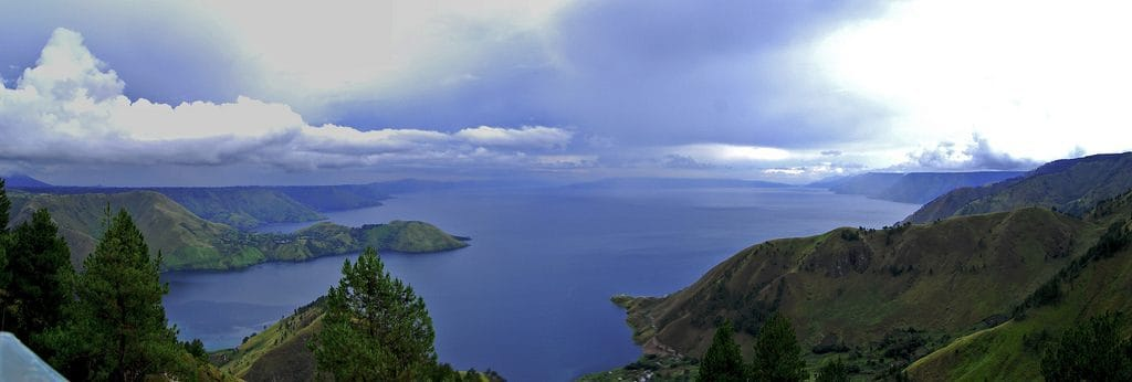 Lake Toba, Sumatra, Indonesia. Danau Toba