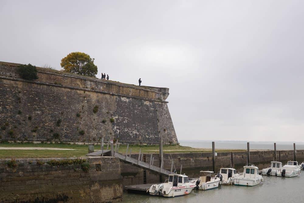 La citadelle du Château d'Oléron. Oleron Island, France