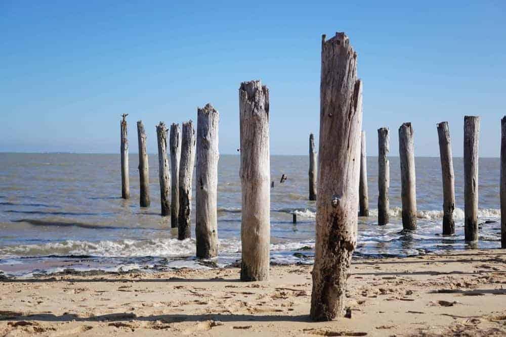 Fort Royer beach. Oleron Island, Charente Maritime, France
