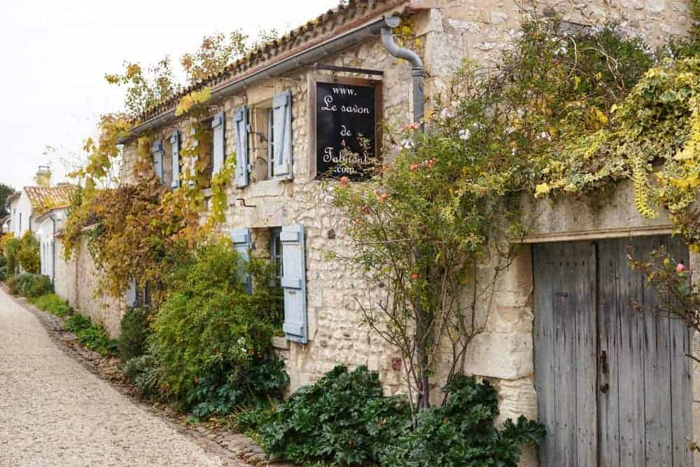Talmont-sur-Gironde, beautiful village in France