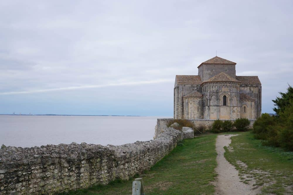 Talmont-sur-Gironde Church, France