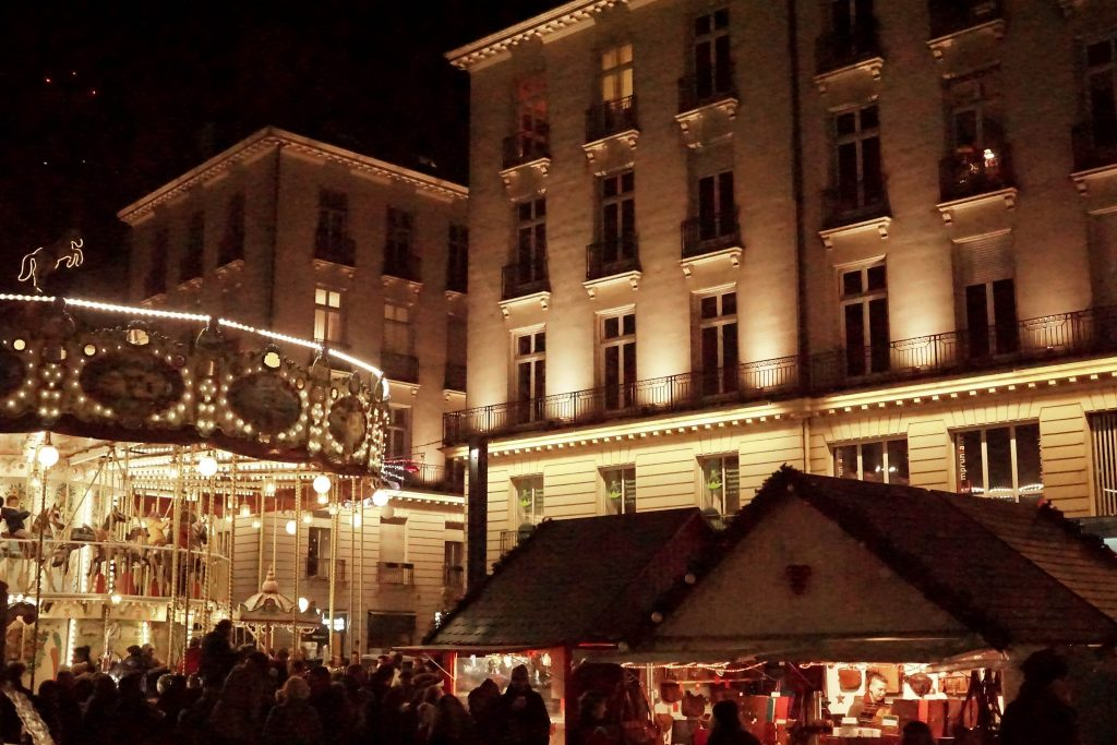 Nantes Christmas Markets. Xmas markets in France