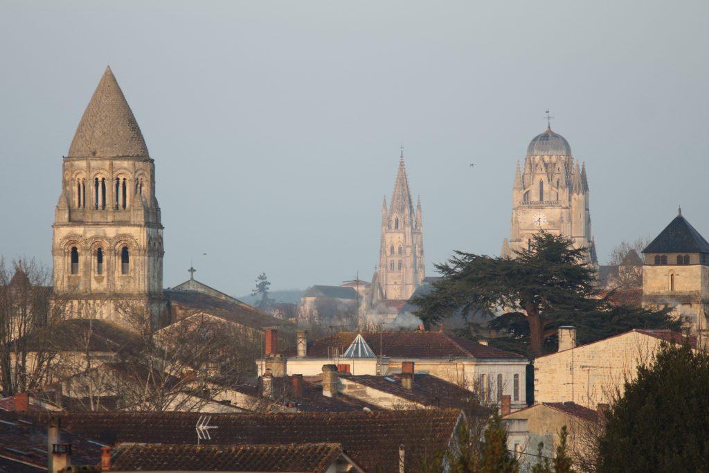 Saintes in Autumn, France