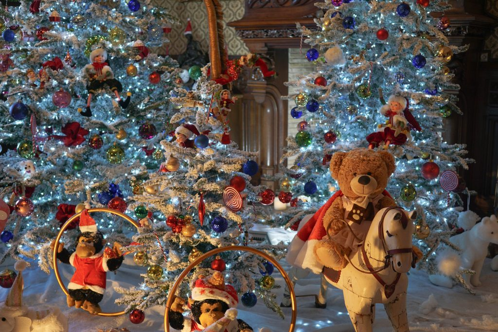 Christmas In France Decorations.A Fairytale Christmas In France Chateau De Crazannes