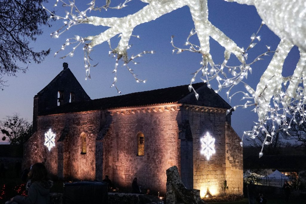 Xmas fete at the Chateau de Crazannes, France