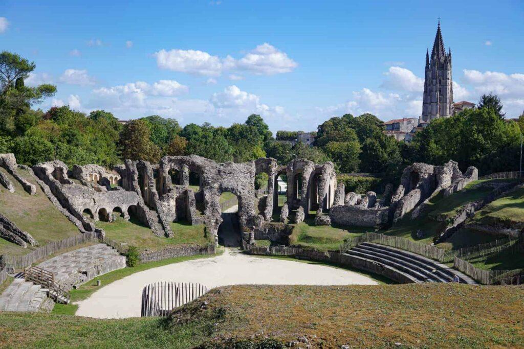 Gallo-Roman Amphitheatre in Saintes, France