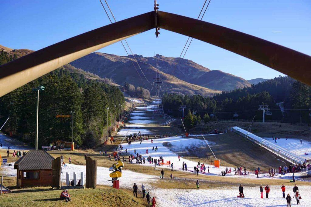 Le Lioran Ski Station, France