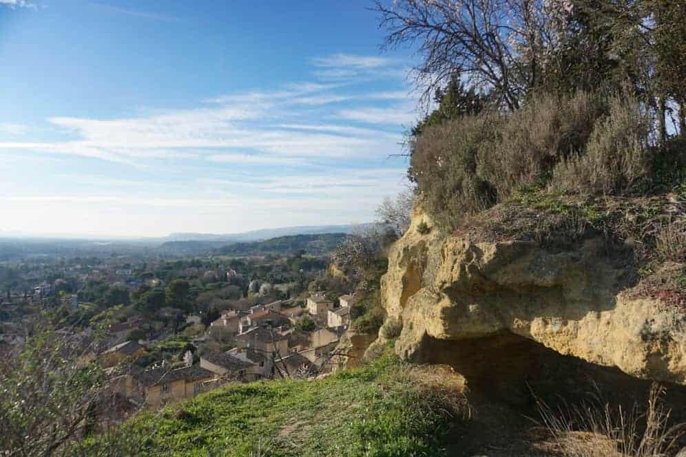 Chateau de Cadenet, hilltop ruins in Provence, France