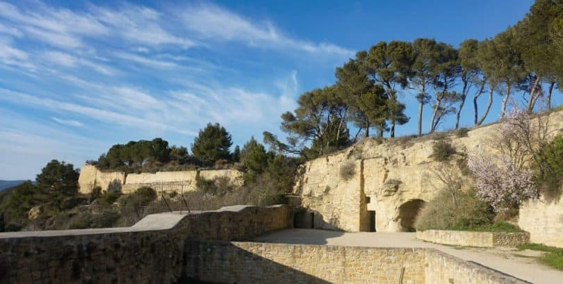 Chateau de Cadenet, Provence, France. Hidden gems in Provence.