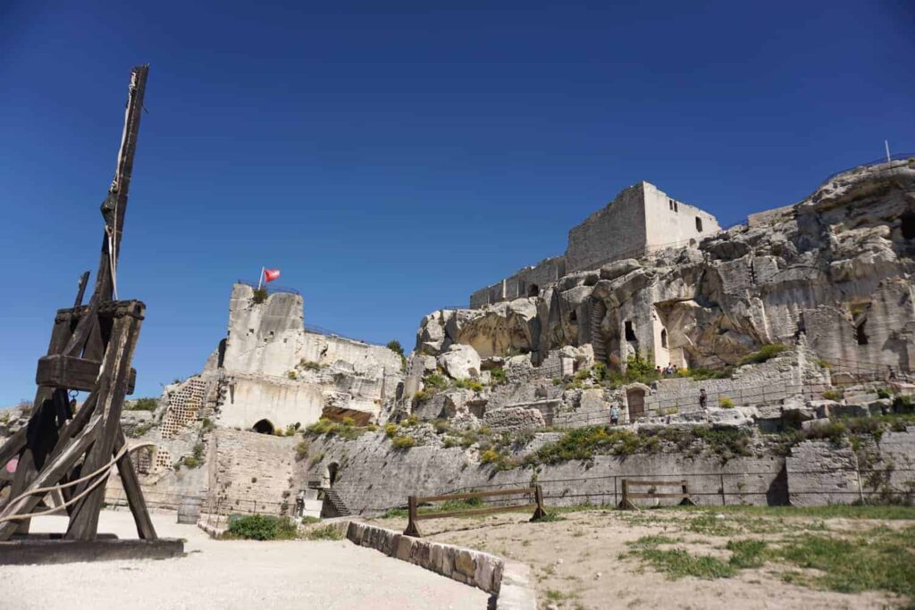 Chateau des Baux de provence, things to do with kids in Provence