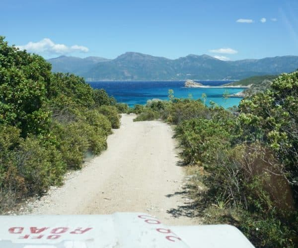Getting to Saleccia Beach in Corsica with Saleccia Off Road