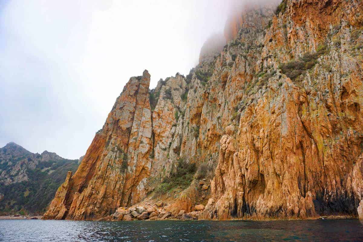 Calanche di Piana, Boat tour in Corsica with Corse Emotion