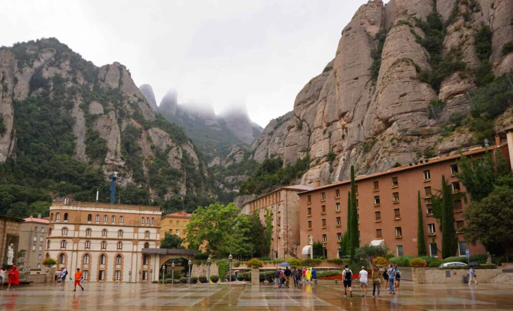 Montserrat - day trip from Barcelona.