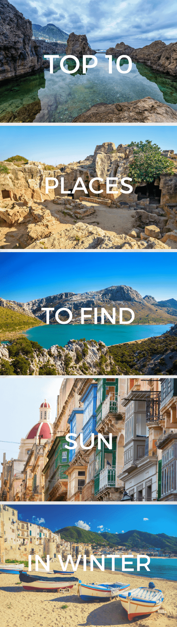 Searching for sun this winter? Find the top 10 European destinations for guaranteed sunshine to beat the blues this winter... Find out where to find the sun this winter.