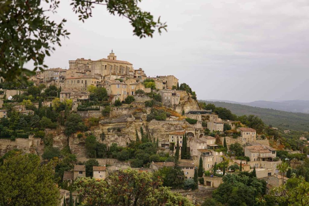 Village of Gordes in Provence, France