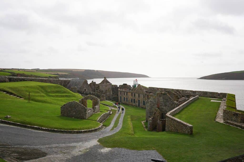 Charles Fort near Kinsale, County Cork, Ireland