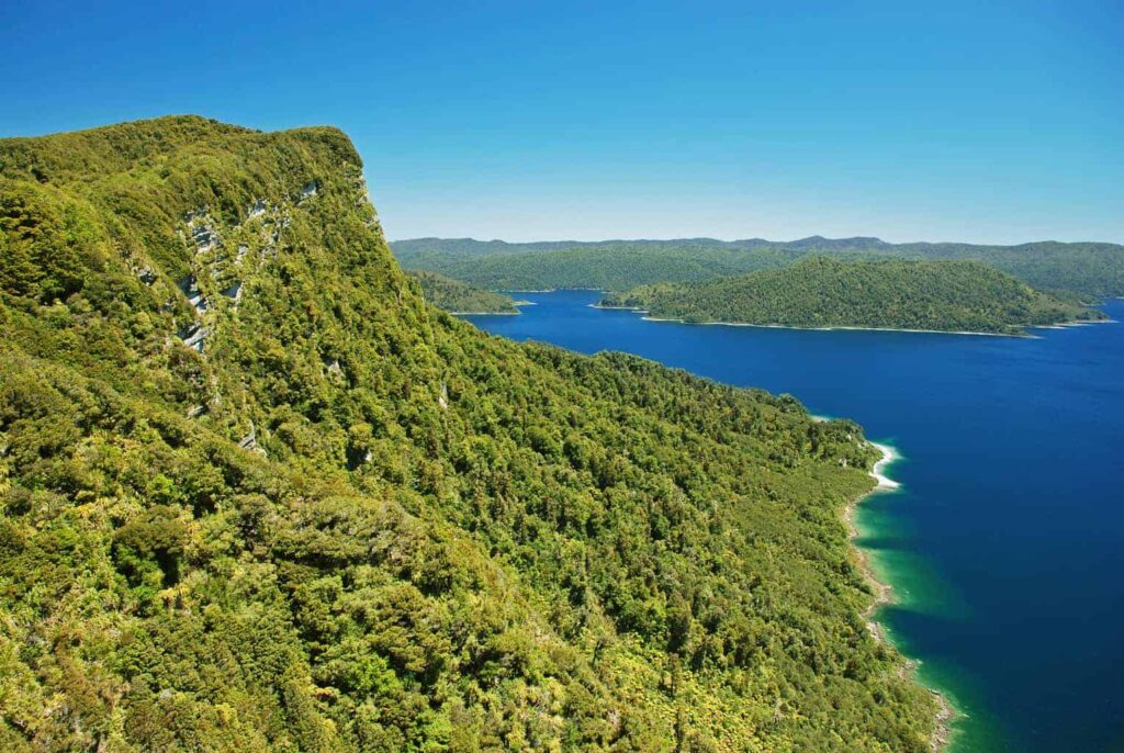 Lake Waikaremoana Track, one of New Zealand's great walks.