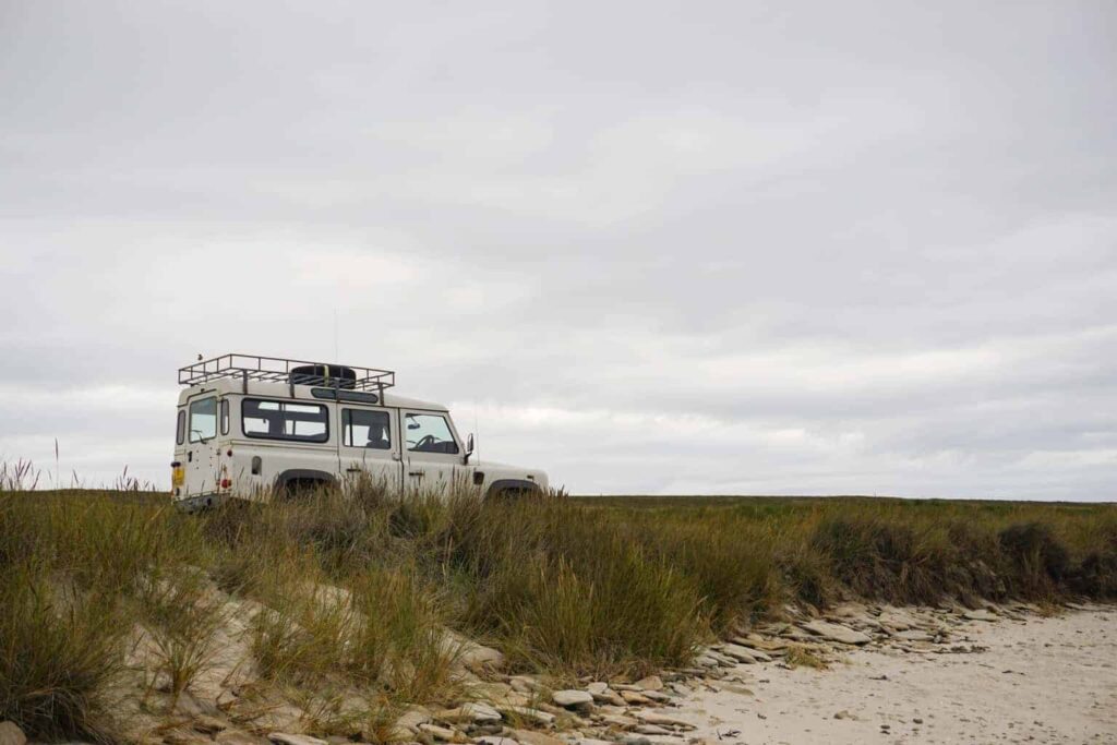 Off-roading in the Falklands. Why the Falkland Islands should be on your travel bucket list.