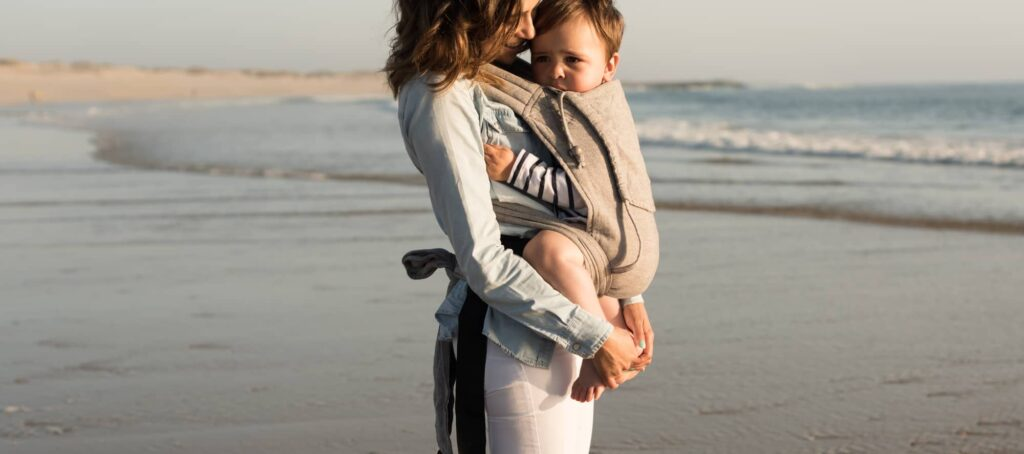 Best baby carrier for travel - Mei Tai baby carrier