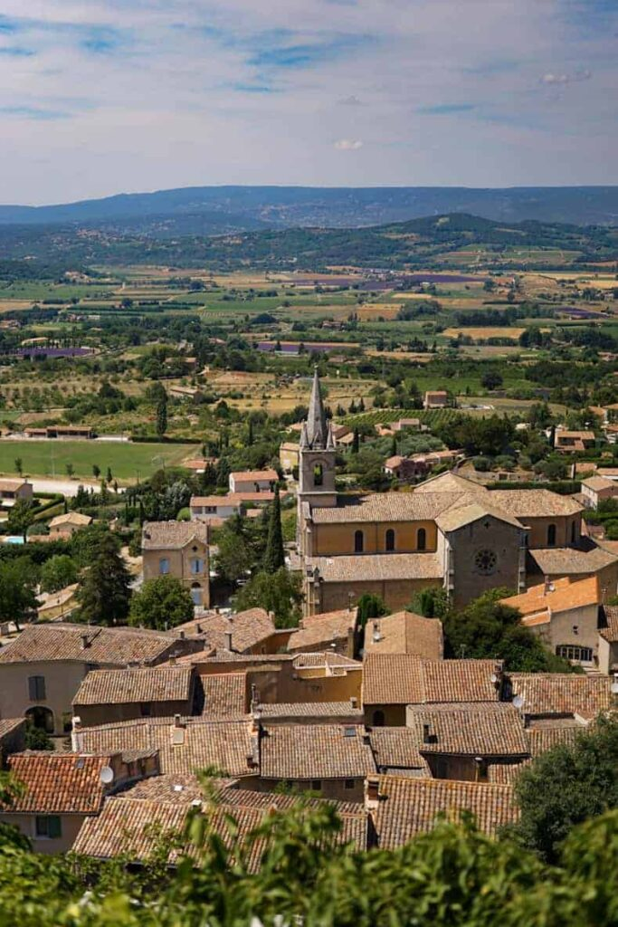 Bonnieux is one of Provence's most beautiful villages.