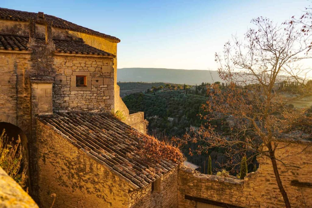 The villages of the Luberon are one of the must-do day trips from Avignon, France