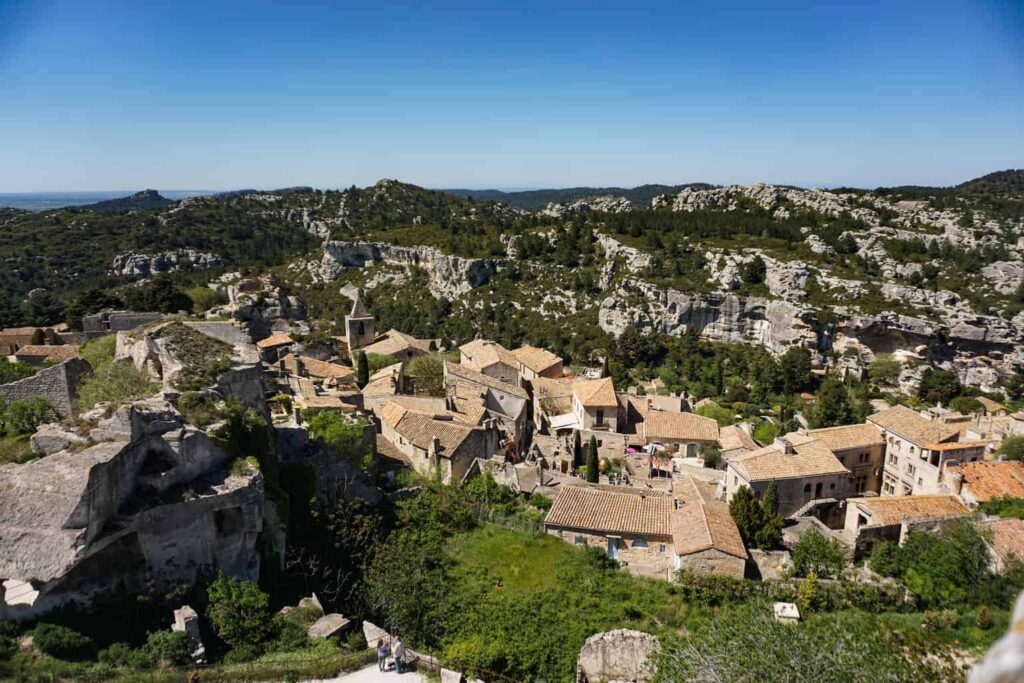 Les Baux de Provence of is of the most beautiful villages of France.