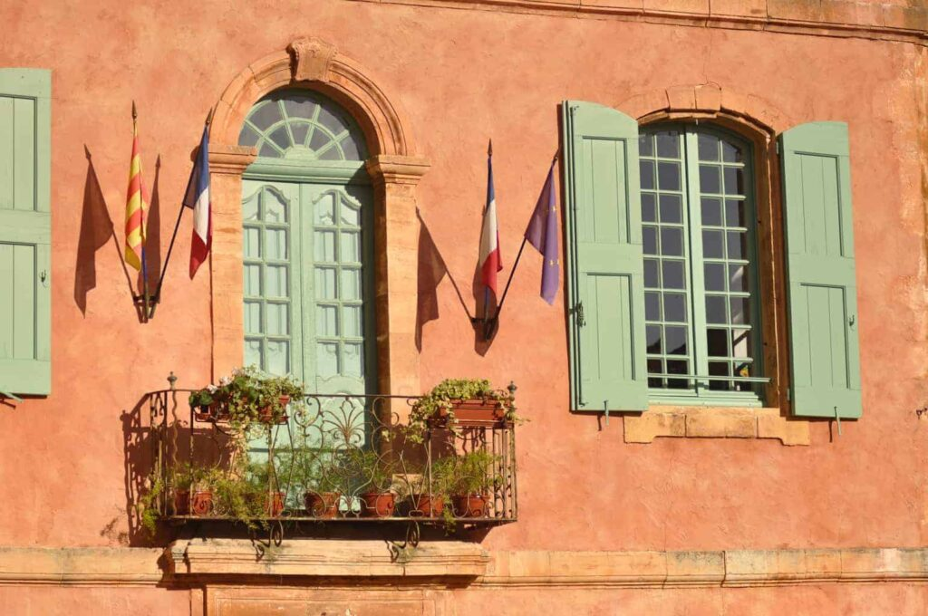 Roussillon, Provence, France. One of the Luberon's most beautiful villages.
