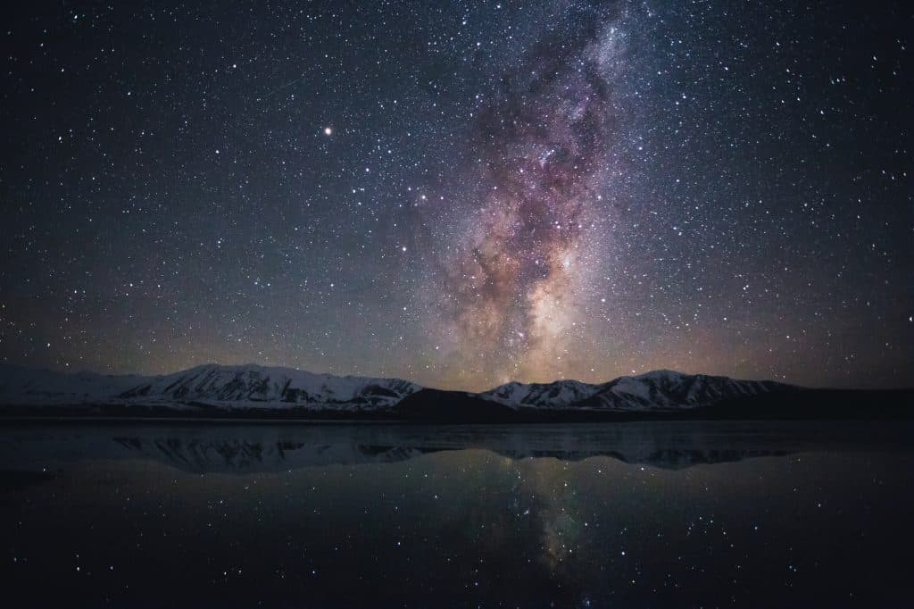 Stargazing at Lake Tekapo, South Island, New Zealand