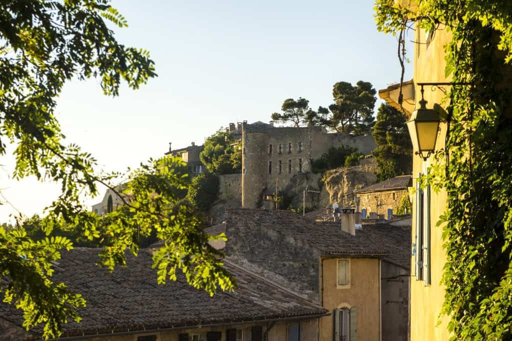 Menerbes - one of the most beautiful villages in Provence, France