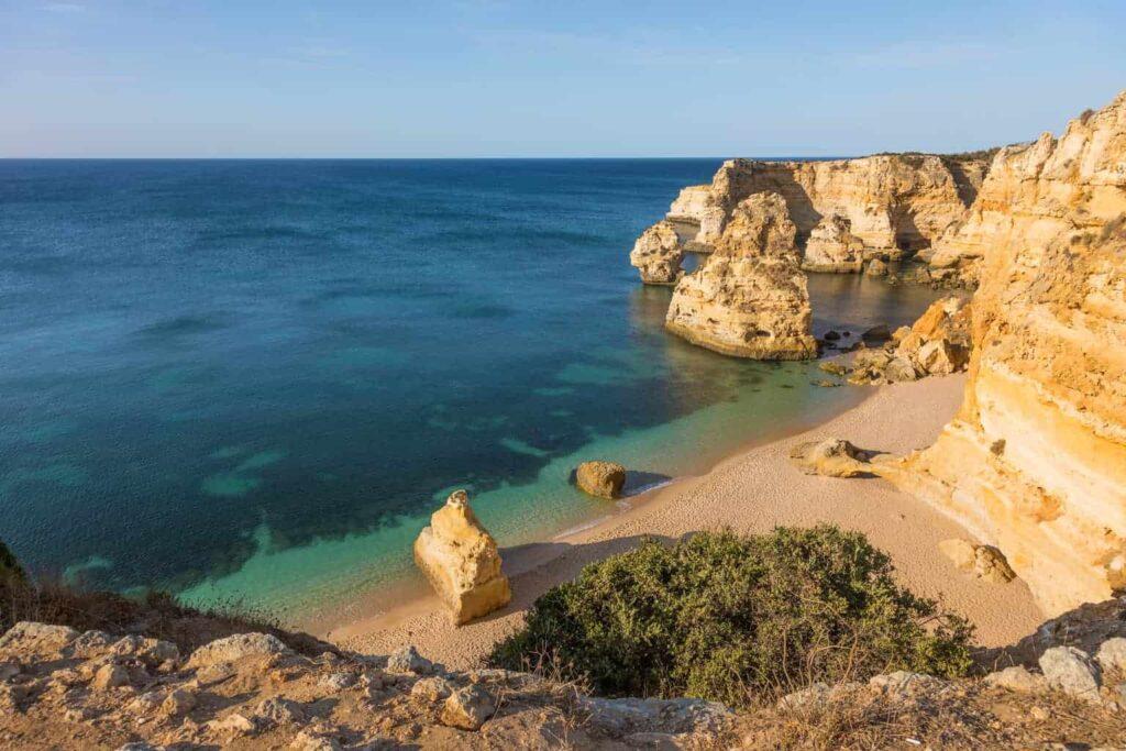 Benagil Caves, Algarve, Portugal