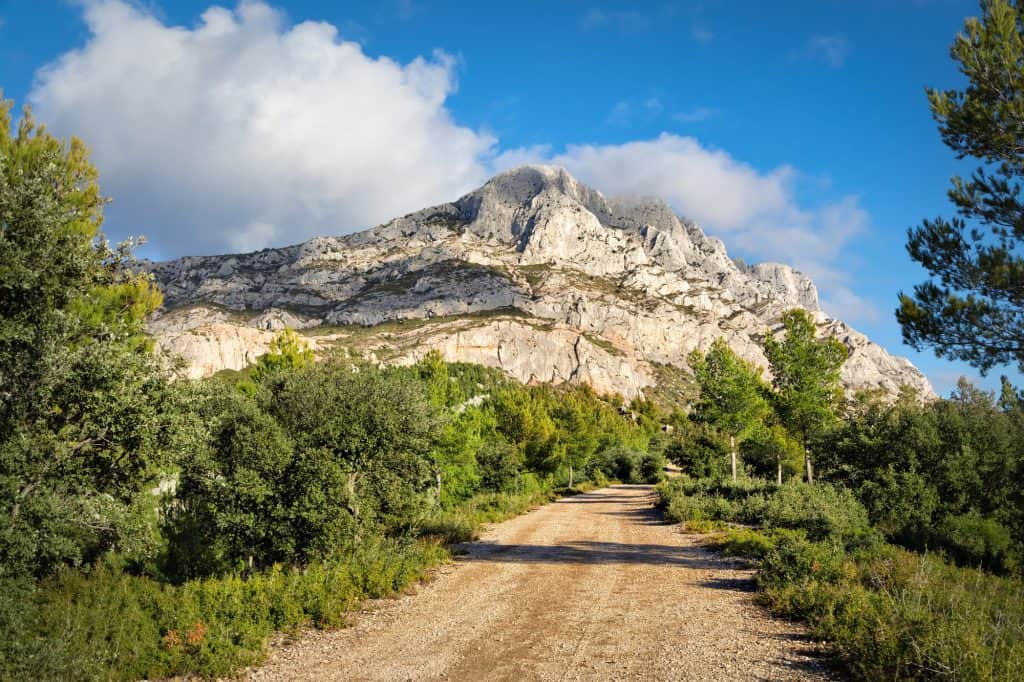 Montagne Sainte-Victoire, a day trip from Aix-en-Provence, France