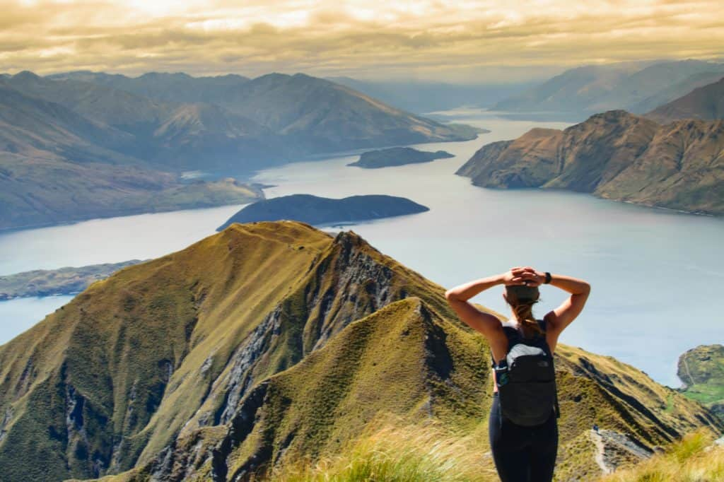 Roys Peak in New Zealand's South Island is one of the best walks in the country.