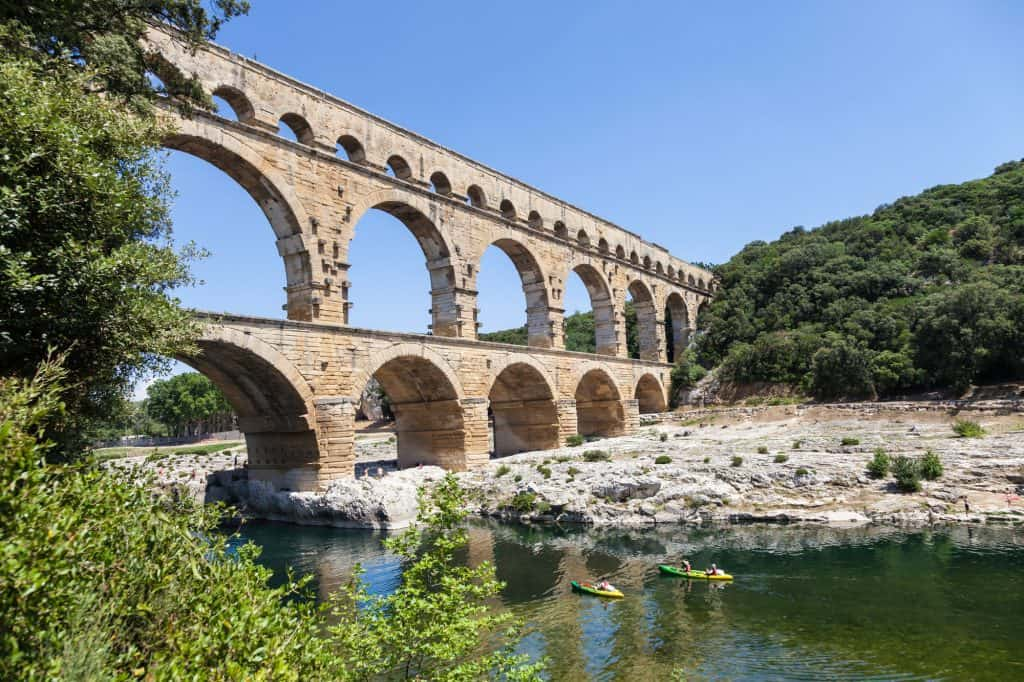 The Pont du Gard is an easy day trip from Avignon.