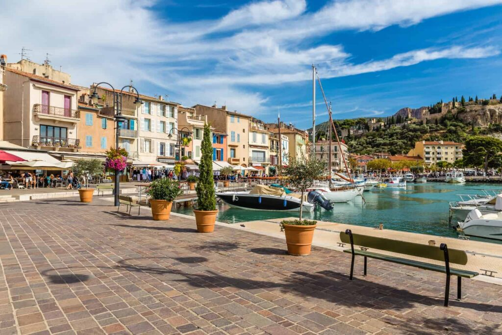 The village of Cassis makes an excellent day trip from Aix-en-Provence