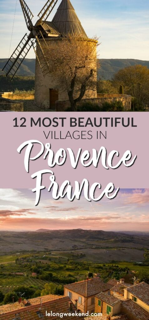12 Most Beautiful Villages of Provence, France | Best Villages of Provence, France | Best Villages in Provence | France's Most Beautiful Villages | #france #provence #luberon #villages