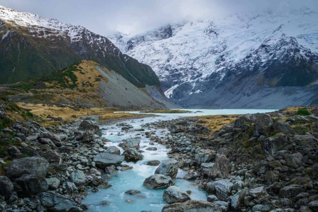 Mount Cook is one of the best things to do in New Zealand