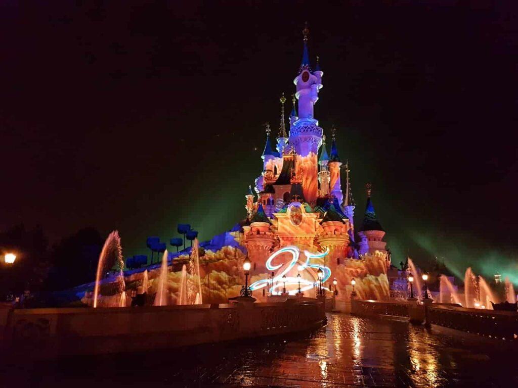 Château de la Belle au Bois Dormant in Disneyland Paris
