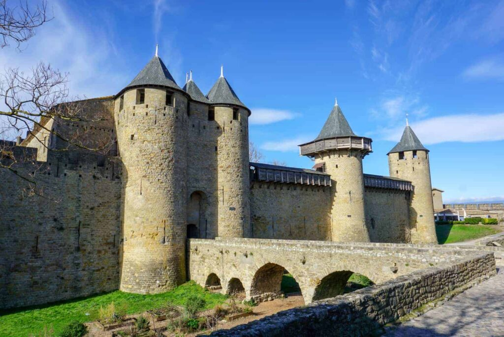Château Comtal de Carcassonne is one of the most impressive castles in France