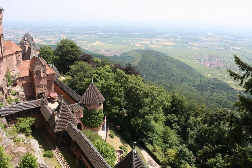 Chateau du Haut-Koenigsbourg is one of the best castles in France