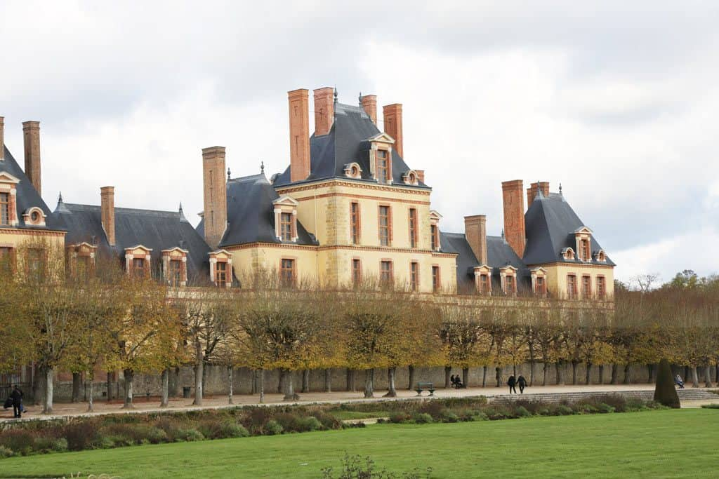 Château de Fontainebleau is one of the most beautiful castles in France