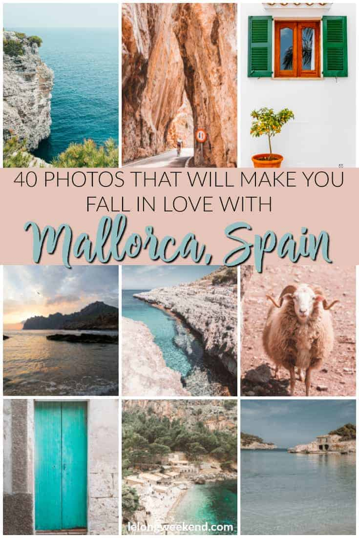 Mallorca is a dream destination. Explore the island through this collection of pictures that are sure to have you daydreaming of visiting Majorca. #Mallorca #majorca #spain #islandholidays #mediterranean #mediterraneanisland