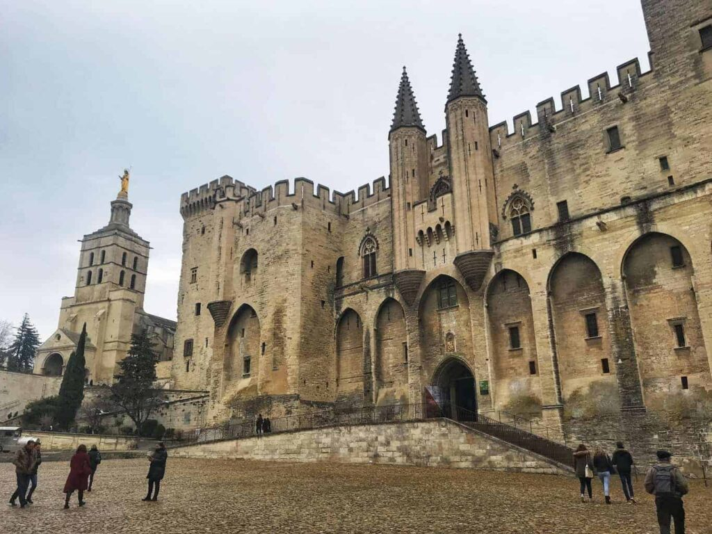 Palais des Papes is one of the best castles in France.